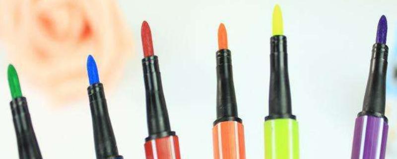 水彩笔能加水吗