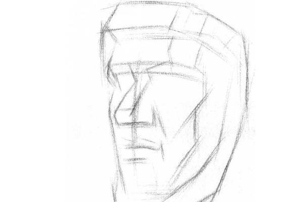 素描石膏像人物及名称
