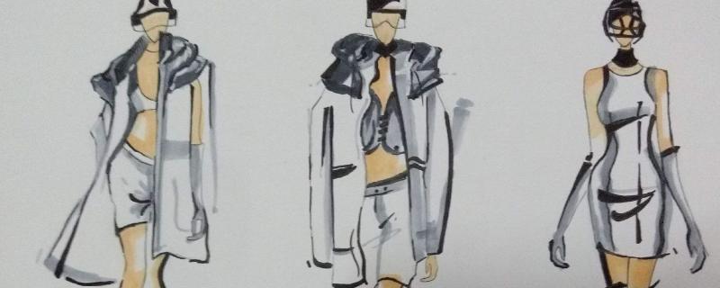 服装设计都学什么