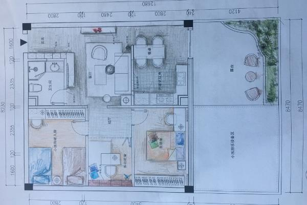 室内设计画图难吗