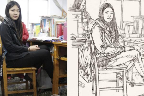 美术高考速写考什么
