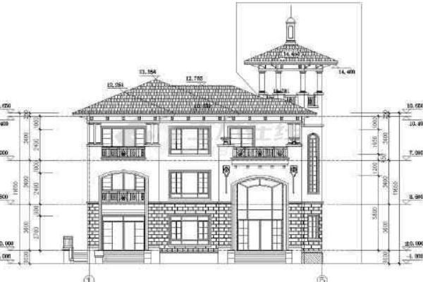 建筑外墙设计图