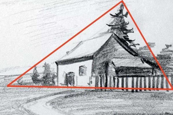 素描构图方法5种